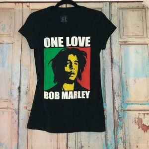 Bob Marley Jamaica collection One Love graphic tee